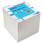 Блок для записей 80х80х80 мм белый непроклеенный Office Space кубик